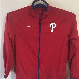 Philadelphia Phillies Nike jacket. Large